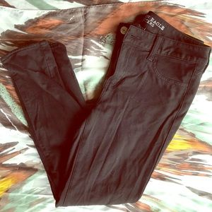 American Eagle Black stretchy jeans